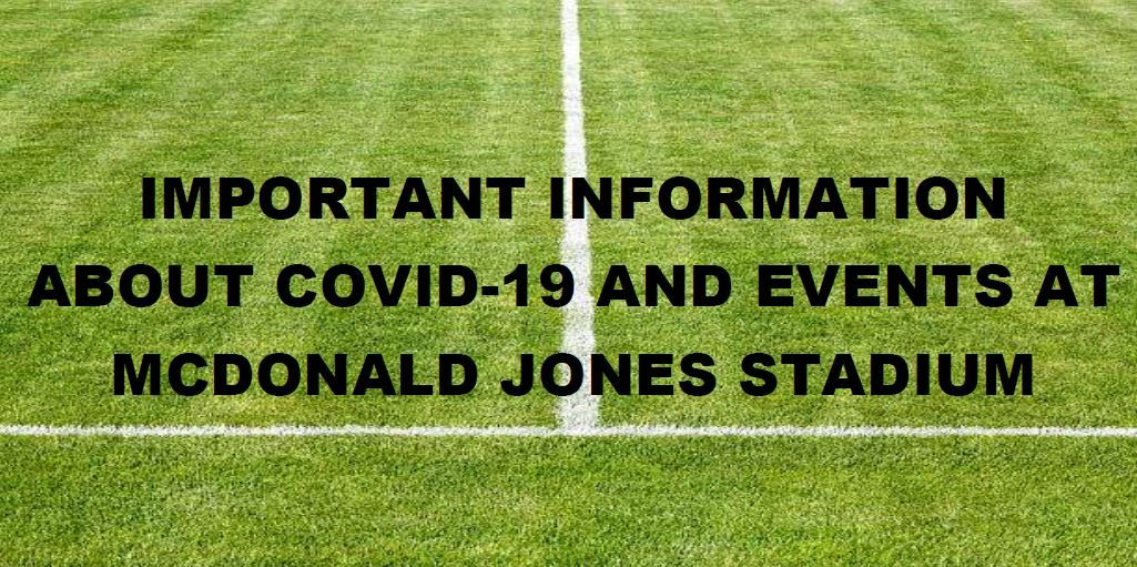 Updated COVID-19 Information around Events