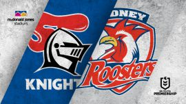 Round 8: Knights v Roosters