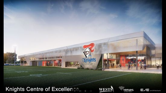 Knights Centre of Excellence to start construction in early 2020