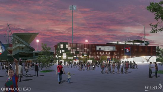Concept Designs Unveiled for $20 million Newcastle Knights Centre of Excellence