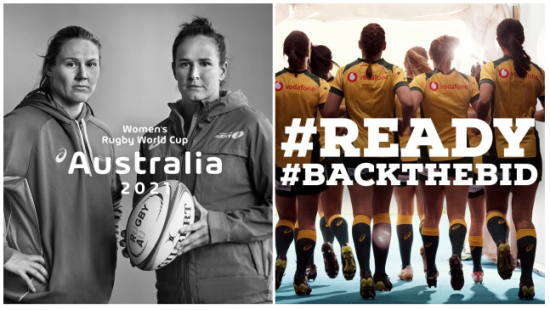 Australia bids for 2021 Women's Rugby World Cup