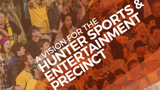 Blueprint for Hunter Sports & Entertainment Precinct