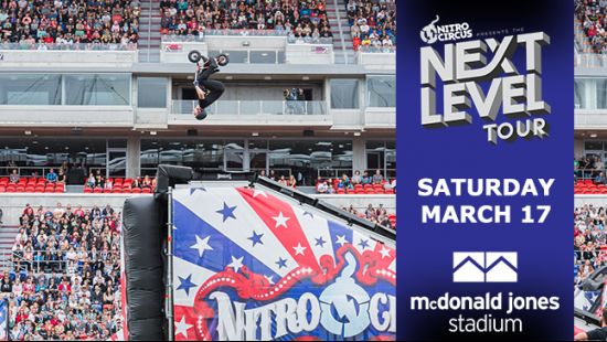 Nitro Circus Returns to McDonald Jones Stadium as Part of The Next Level Tour